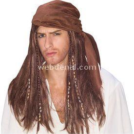 Rubies Rubie's Karayip Korsanları Yetişkin Peruk Kostüm & Aksesuar