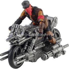 Necotoys Terminator Motor Ve Figür Figür Oyuncaklar