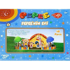 Cubic Fun 3d 42 Parça 3 Boyutlu  Pepee'nin Evi Puzzle
