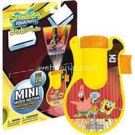 Necotoys Sponge Bob Mini Film Projektörü Minik Hediyelikler