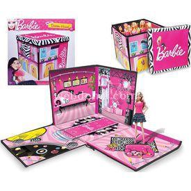 Necotoys Barbie'nin Rüya Evi Ve Bebek Kutusu Oyun Seti Kız Çocuk Oyuncakları