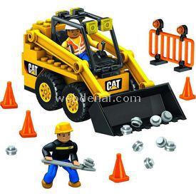 Mega Bloks Cat Mini Blok Dozer Oyun Seti Lego Oyuncakları