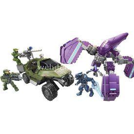 Mega Bloks Halo Unsc Büyük Savaş Seti Lego Oyuncakları
