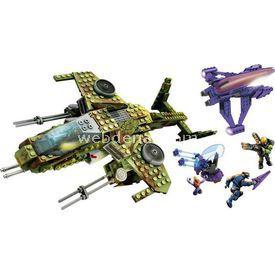 Mega Bloks Halo Wars Tuzak Uçak Seti Lego Oyuncakları