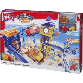 Mega Bloks Chuggington Jet-pack Adventure 103 Parça Lego Oyuncakları