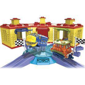 Mega Bloks Chuggington Roundhouse Racing Oyun Seti Lego Oyuncakları