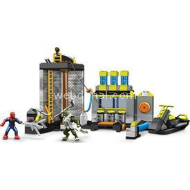 Mega Bloks The Amazing Spider-man Sewer Lab Oyun Seti Lego Oyuncakları