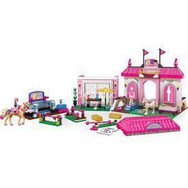 Mega Bloks Barbie Pony Ve Jokey Oyun Seti Lego Oyuncakları