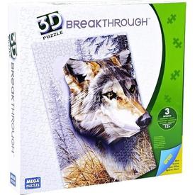 Mega Puzzles 300 Parça 3 Boyutlu  Breakthrough Kurt Puzzle