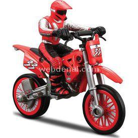 Maisto Motosiklet Fırlatıcı Motor Direksiyonu Erkek Çocuk Oyuncakları