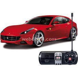 Maisto Tech 1:24 Ferrari Ff Rc U/k Araba Kırmızı Arabalar