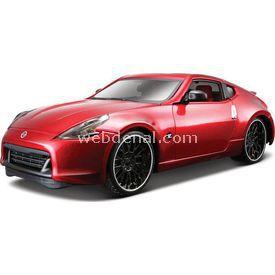 Maisto Nissan 370z 2009 1:24 Model Araba C/s Kırmızı Arabalar