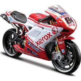 Maisto Ducati Sbk 2010 Diecast Model Motosiklet 1:18 Arabalar