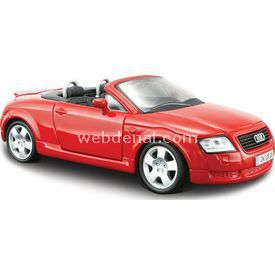 Maisto Audi Tt Roadster 1:24 Model Araba S/e Kırmızı Arabalar