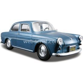 Maisto Volkswagen 1600 Notchback 1:24 Model Araba S/e Mavi Arabalar