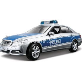 Maisto Mercedes E-class Polizei 1:18 Model Araba Gri Arabalar