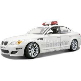 Maisto Bmw M5 Moto Gp Safety Car 1:18 Model Araba P/e Beyaz Arabalar