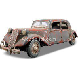 Maisto Citroen 15cv 6 Cyl 1952 1:18 Model Araba Old Friends Gri Arabalar