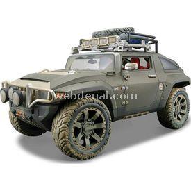 Maisto Hummer Hx Concept 1:18 Model Araba Dirt Riders Yeşil Arabalar