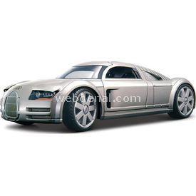 Maisto Audi Supersportwagen 'rosemeyer' 1:18 Model Araba S/e Gri Arabalar