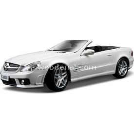 Maisto Mercedes Sl 63 Amg 1:18 Model Araba S/e Beyaz Arabalar