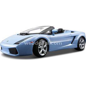 Maisto Lamborghini Gallardo Spyder 1:18 Model Araba S/e Mavi Arabalar