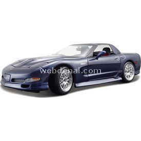 Maisto Chevrolet Corvette 2001 1:18 Model Araba S/e Lacivert Arabalar