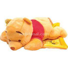 Necotoys Pooh Battaniyeli Peluş Oyuncak 28 Cm Peluş Oyuncaklar