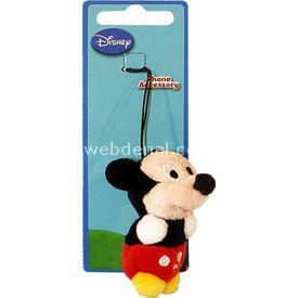 Necotoys Mickey Mouse Peluş Cep Telefonu Aksesuarı Peluş Oyuncaklar