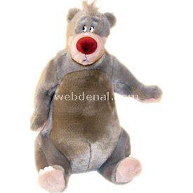 Necotoys Disney Animals Baloo Peluş Oyuncak 38 Cm Peluş Oyuncaklar