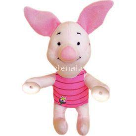 Necotoys Piglet Vantuzlu Peluş Oyuncak 22 Cm Bebek Odası Aksesuarı