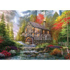 KS 1000 Parça  The Old Wood Mill Puzzle