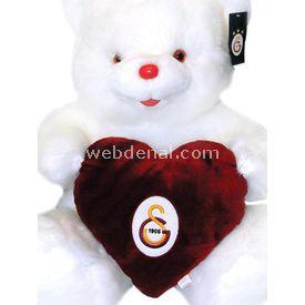 Galatasaray Kalpli Cici Ayı Peluş Oyuncak Peluş Oyuncaklar