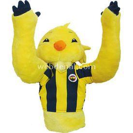 Fenerbahçe Lisanslı Kanarya Peluş Kukla Peluş Oyuncaklar