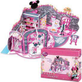 Cubic Fun 3d 65 Parça  Minnie'nin Moda Dükkanı Puzzle