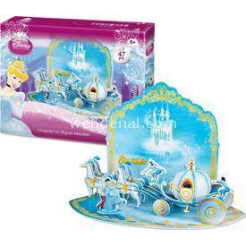 Cubic Fun 3d 47 Parça  Cinderella'nın Büyülü Masalları Puzzle