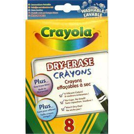 Crayola Beyaz Tahta Pastel Boyası Yardımcı Malzeme