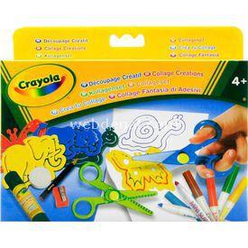 Crayola Kolaj Yaratmaca Eğitici Oyuncaklar