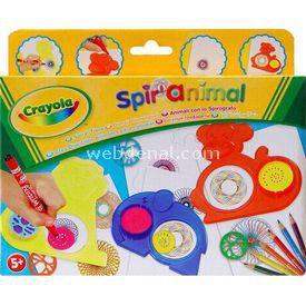 Crayola Spiral Hayvanlar Eğitici Oyuncaklar