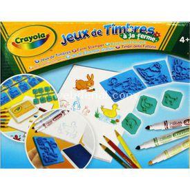 Crayola Çiftlik Damga Ve Boya Seti Eğitici Oyuncaklar