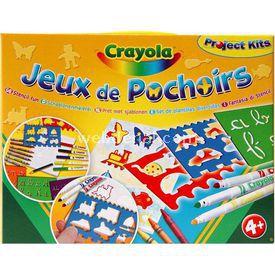 Crayola Şablon Ve Boya Seti Eğitici Oyuncaklar
