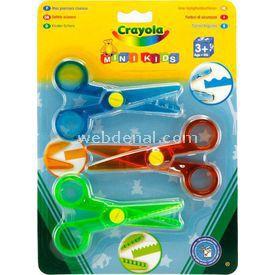 Crayola 3 Mini Makas Ofis / Kırtasiye Ürünü