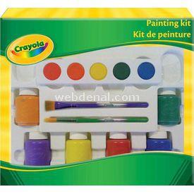 Crayola Sulu Boya Kiti Yardımcı Malzeme