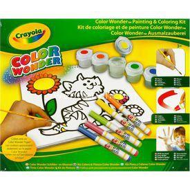 Crayola Renk Harikasi Çizim Ve Resim Seti Eğitici Oyuncaklar