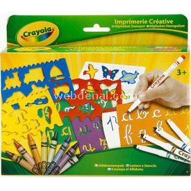 Crayola Alfabe Damga Seti Eğitici Oyuncaklar