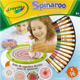 Crayola Spinaroo Aktivite Seti Eğitici Oyuncaklar