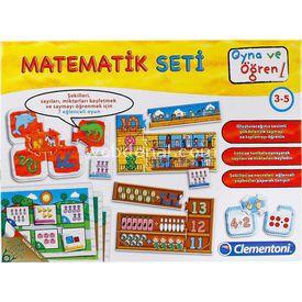 Clementoni Oyna Ve Öğren Matematik Seti Kutu Oyunları