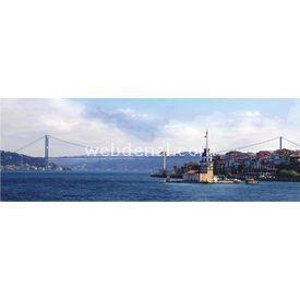 Anatolian 1000 Parça  Kız Kulesi Boğaz Köprüsü Puzzle