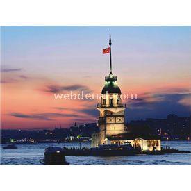 Anatolian 1000 Parça  Kız Kulesi Puzzle