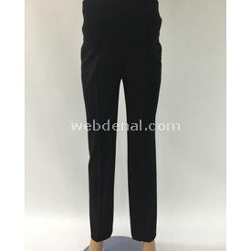 Sedef Kumaş Hamile Pantalonbeyaz Siyah 44 Pantolon, Şort, Tayt